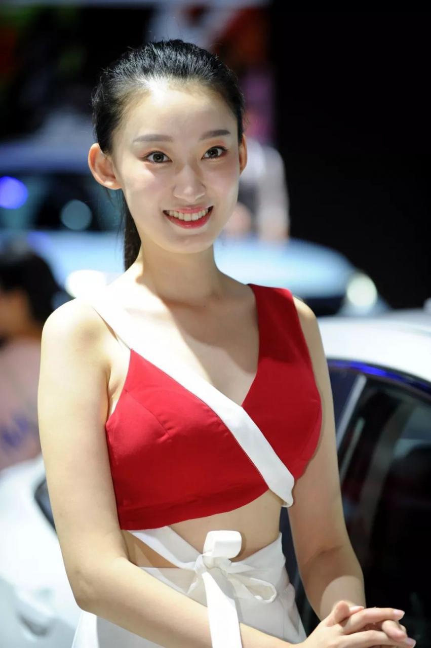 本田展台模特